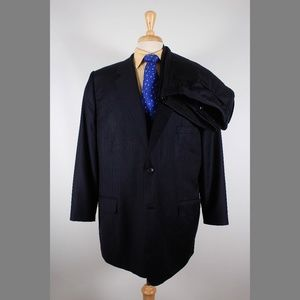 Pronto Uomo 48R 44x26 Pleated Suit B623